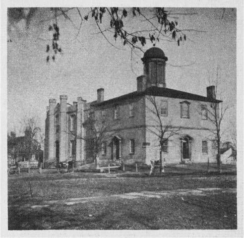 Courthouse in 1854