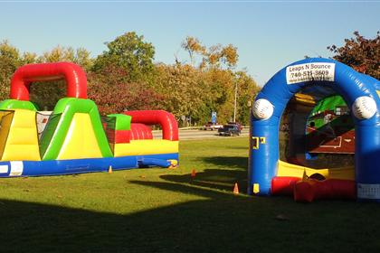 Bouncy House and Slide