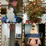 More Christmas Columns on the third floor