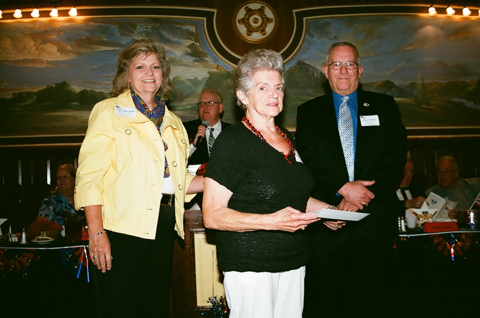 Commissioners present lifetime service awards